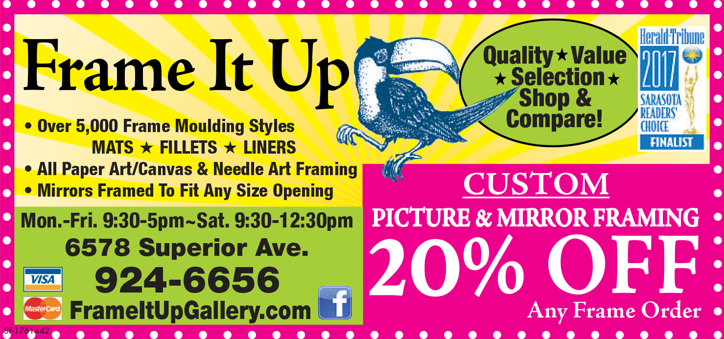 Specials - Frame It Up Gallery